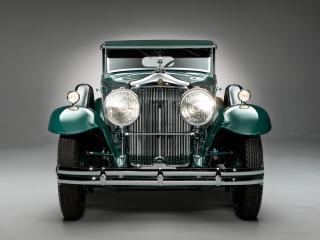обои Minerva 8AL Rollston Convertible Sedan 1931 спереди фото
