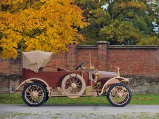 обои Minerva DD 14 HP Victoria Tourer by Cann & Co 1912 бок фото
