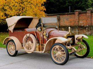 обои Minerva DD 14 HP Victoria Tourer by Cann & Co 1912 боком фото