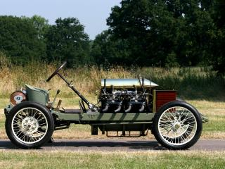 обои Darracq 200 HP Sprint 1905 бок фото