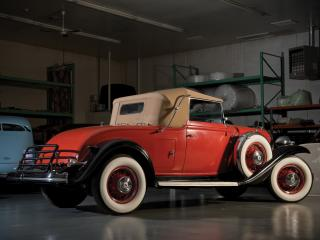 обои Buick 90 Convertible Coupe 1932 бок фото