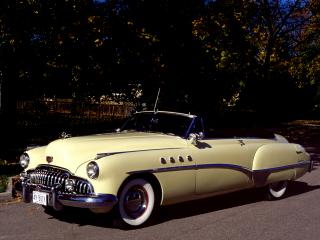 обои Buick Roadmaster Riviera (76C) 1949 бок фото
