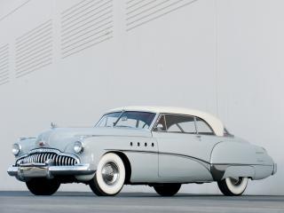 обои Buick Roadmaster Riviera (76R) 1949 бок фото
