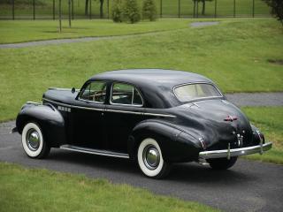 обои Buick Roadmaster Sedan (71) 1940 зад фото