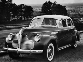 обои Buick Roadmaster Sedan (71) 1940 перед фото