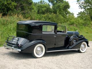 обои Buick Roadmaster Town Car by Brewster (80) 1936 бок фото