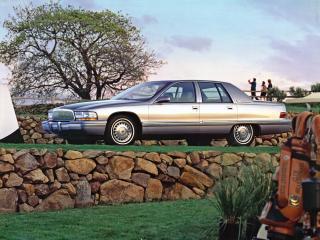обои Buick Roadmaster 1991 бок фото