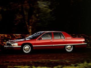 обои Buick Roadmaster 1991 сбоку фото