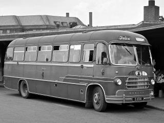 обои Bedford Europa SB Coach 1957 перед фото