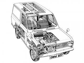 обои Bedford HA 1963 схема фото