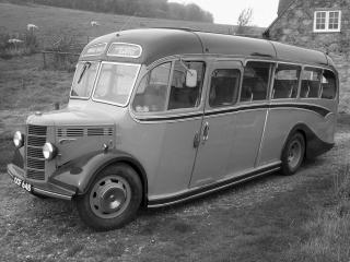 обои Bedford OB Duple Vista 1939 бок фото