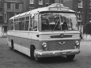 обои Bedford SB13 Duple Vega (C41F) 1965 перед фото