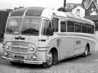 обои Plaxton Bedford SB (C42G) 1954 бок фото