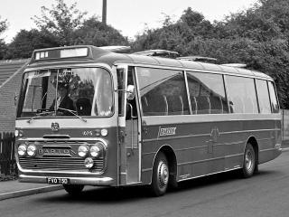 обои Plaxton Bedford VAM5 (C45F) 1966 перед фото