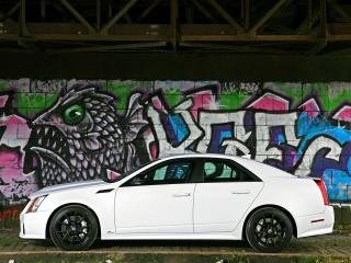 обои Cam Shaft Cadillac CTS-V 2010 граффити фото