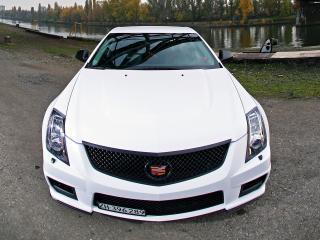обои Cam Shaft Cadillac CTS-V 2010 капот фото