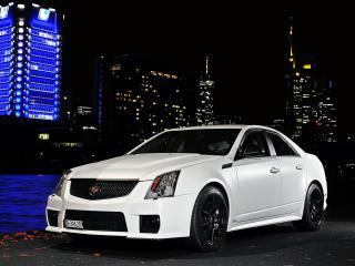обои Cam Shaft Cadillac CTS-V 2010 перед фото