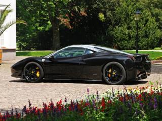обои Cam Shaft Ferrari 458 Italia 2011 бок фото