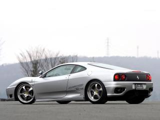обои JNH Ferrari 360 Modena 2007 бок фото
