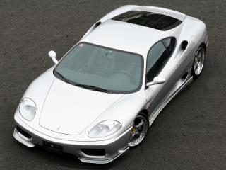 обои JNH Ferrari 360 Modena 2007 капот фото
