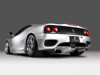 обои JNH Ferrari 360 Modena 2007 низ фото