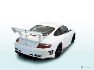 обои JNH Porsche 911 GT3 (996) 2006 боком фото