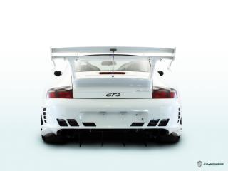 обои JNH Porsche 911 GT3 (996) 2006 задок фото