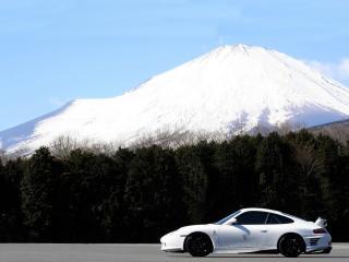 обои JNH Porsche 911 GT3 Version 02 (996) 2007 гора фото