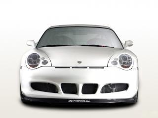 обои JNH Porsche 911 GT3 Version 02 (996) 2007 капот фото