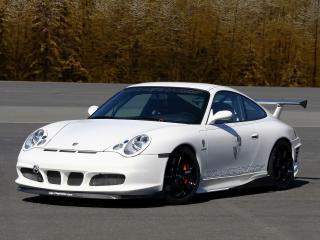 обои JNH Porsche 911 GT3 Version 02 (996) 2007 сбоку фото