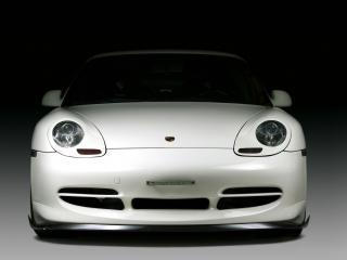 обои JNH Porsche 911 GT3 Version 03 (996) 2007 перед фото