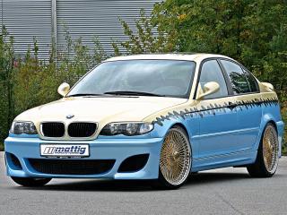 обои Mattig BMW 3 Series Sedan (E46) перед фото