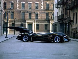 обои Batmobile 1997 бок фото