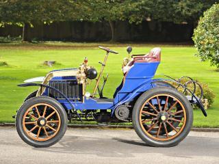 обои Deckert 8 HP 2-seater 1902 бок фото