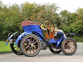 обои Deckert 8 HP 2-seater 1902 зад фото