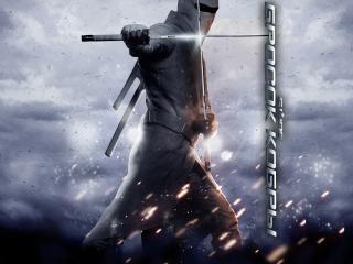 обои Бросок кобры человек с мечами фото