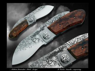 обои Красивые китайские ножы фото