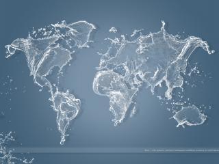 обои Мир,  карта фото