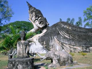 обои Лаос,   Будда парк фото