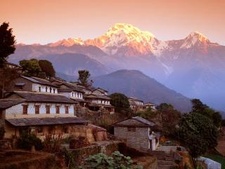 обои Гималаи,   Непал,   южная деревня Гандрунг фото