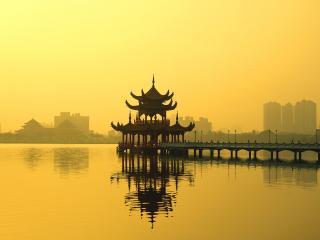 обои Тайвань,   Каосинг,   Лотос лейк фото
