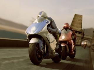 обои Гонки на мотоциклах фото