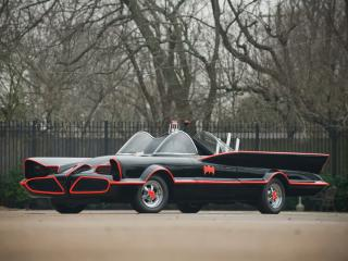 обои Lincoln Futura Batmobile by Barris Kustom 1966 черный фото