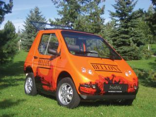 обои 2005 ElBil Norge Kewet Buddy оранжевый фото