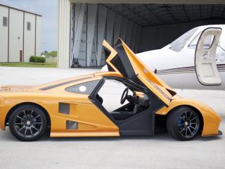 обои 2012 DDR Motorsport Miami GT Kit Car бок фото