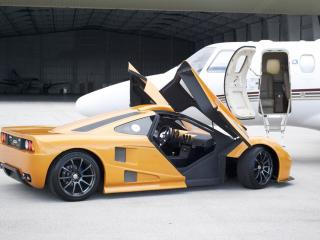 обои 2012 DDR Motorsport Miami GT Kit Car двери фото