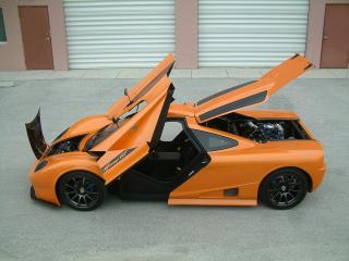 обои 2012 DDR Motorsport Miami GT Kit Car открыто фото