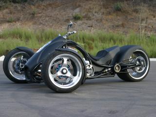 обои 2008 Trirod F3 Adrenaline сбоку фото