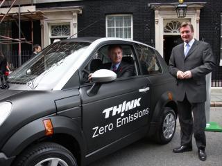 обои 2009 Think City now on Downing Street сила фото