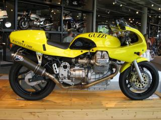 обои 1992 Moto Guzzi Daytona 1000 бок фото